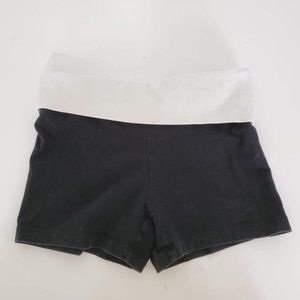VS PINK Athletic Shorts Black with White Band XS